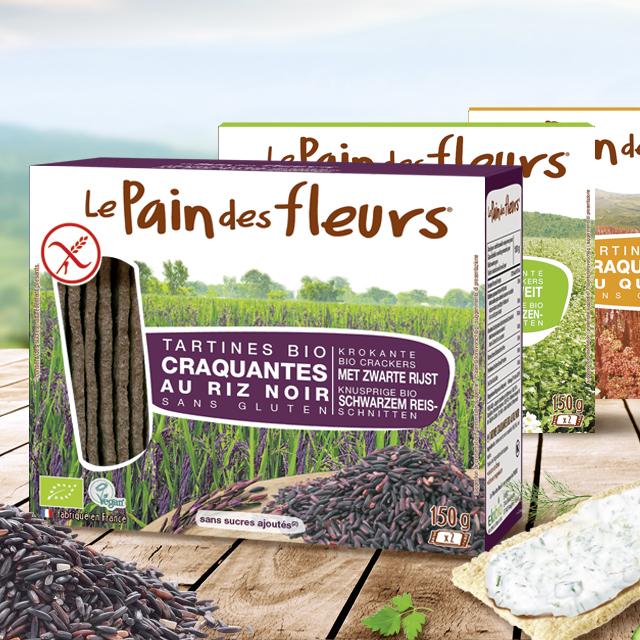 Packaging Le pain des fleurs